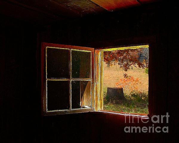 Open Cabin Window II Print by Julie Dant
