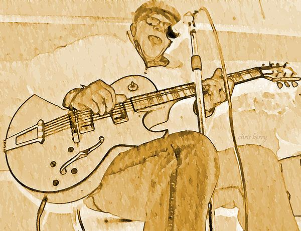 Open Jam Print by Chris Berry