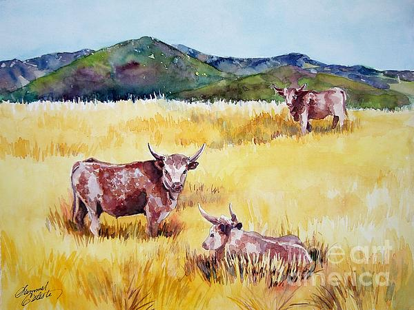 Open Range Patagonia Print by Summer Celeste