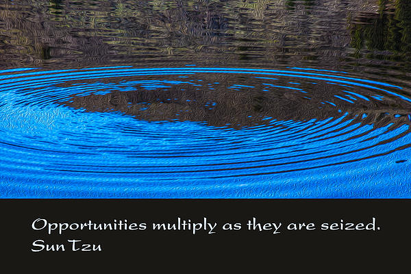 Opportunites Multiplied Print by Omaste Witkowski