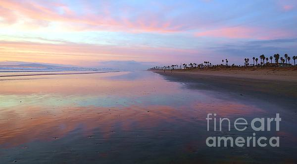 Orange County Seascape Print by John Groeneveld