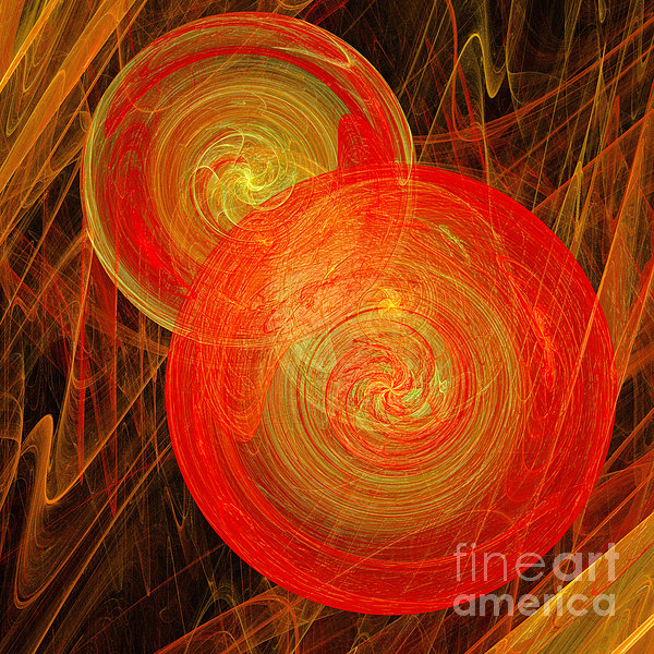Andee Photography - Orange Hard Candy Abstract