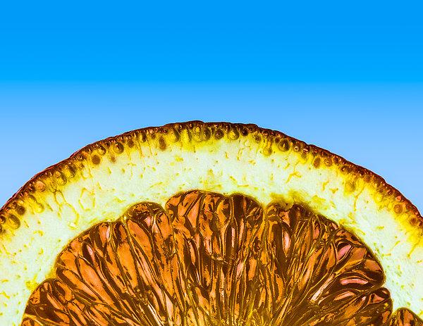 Orange Sunrise Print by Alexander Senin