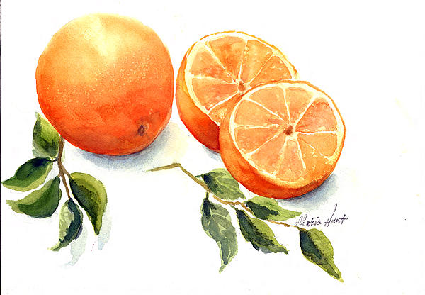 Maria Hunt - Oranges