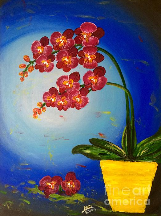 Aarti Bartake - Orchids