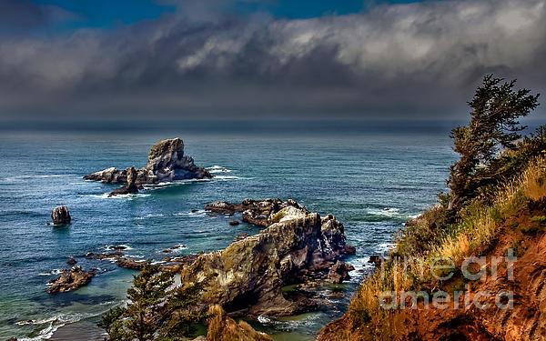 Oregon Coast Print by Robert Bales