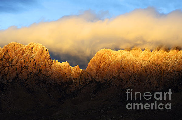 Organ Mountains Symphony Of Light Print by Bob Christopher