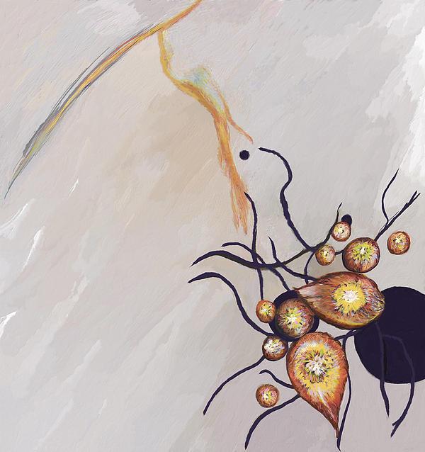 Organic Abstraction Print by Enzie Shahmiri