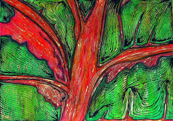 Organic Print by Carla Sa Fernandes