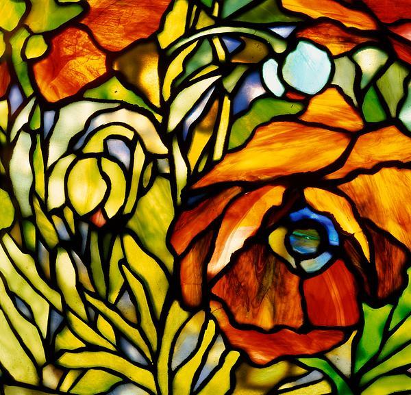 Oriental Poppy Print by Tiffany Studios