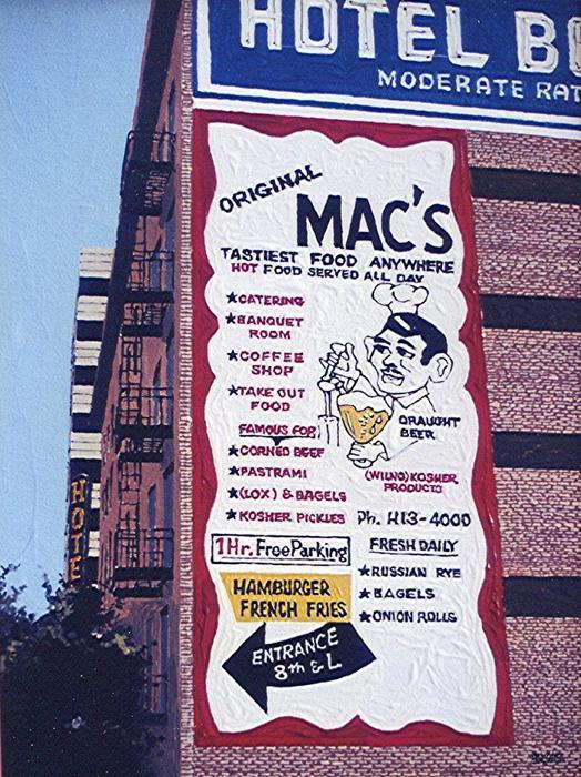 Original Mac's Print by Paul Guyer