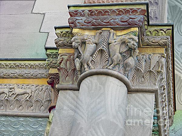 Ornate Columns Giclee Print by CR Leyland