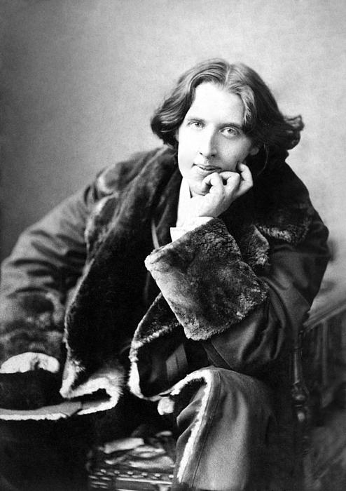 Oscar Wilde In His Favourite Coat 1882 Print by Napoleon Sarony