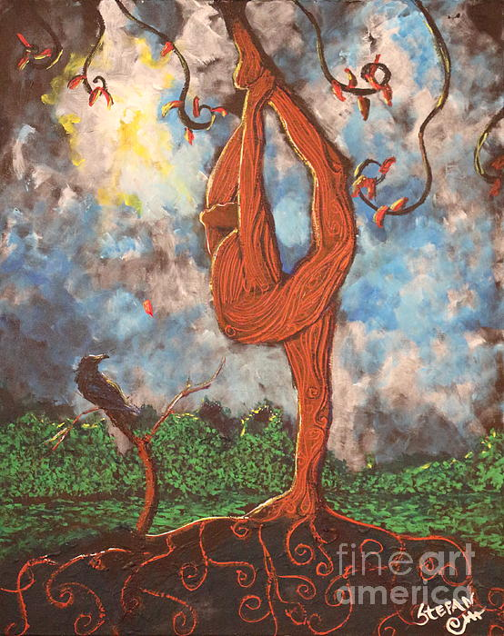 Our Dance With Nature Print by Stefan Duncan