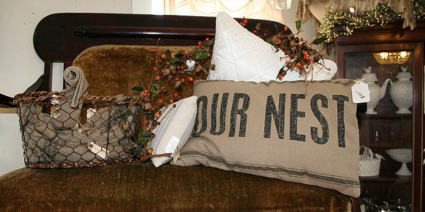 Our Nest Print by Rebecca Smith