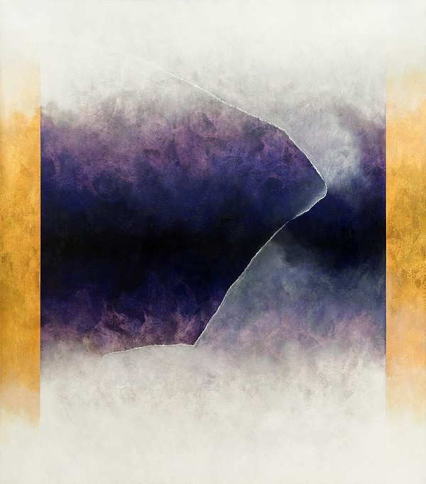 Ouroboros Three Blue, 2010 Print by Mathew Clum