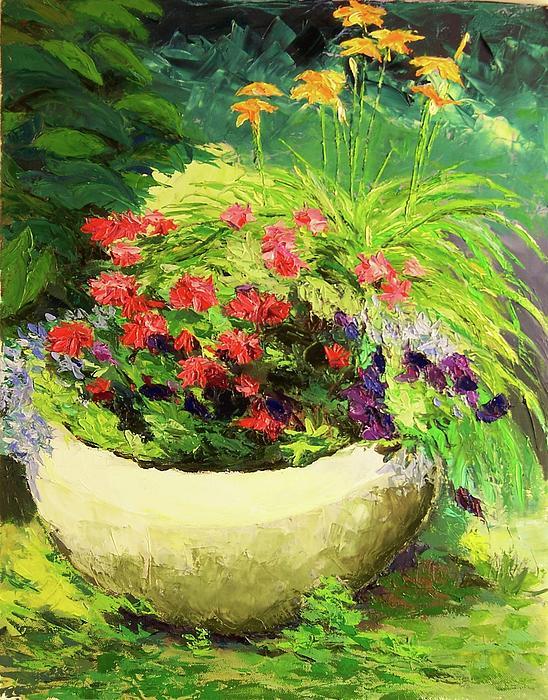 Nicolas Bouteneff - Outdoor Flower Pot