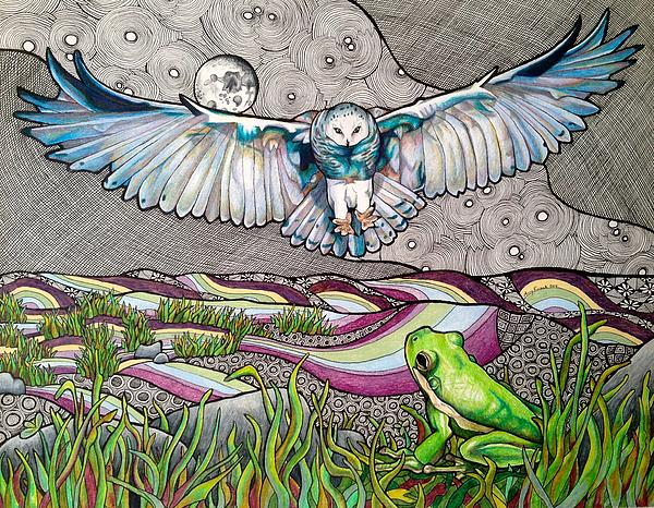 Amy Frank - Owl and Frog