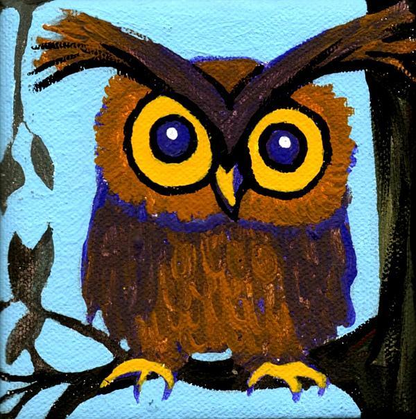 Owlette Print by Genevieve Esson