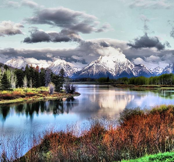 Oxbow Bend Print by Dan Sproul