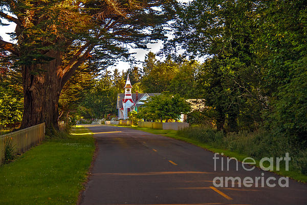 Oysterville Church Framed Print by Robert Bales