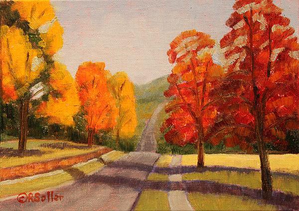 Ozarks October Print by Ruth Soller