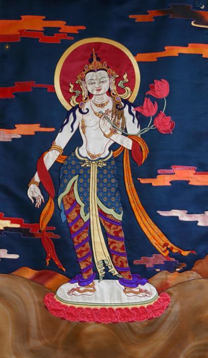 Padmapani Print by Leslie Rinchen-Wongmo