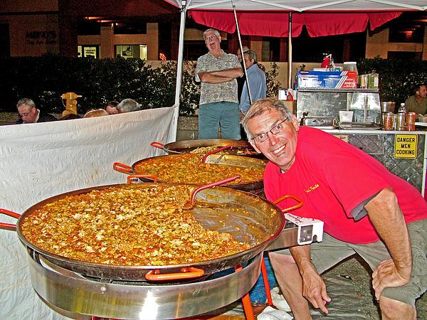 Paella for thursday night street fair in palm springs for Palm springs craft fair