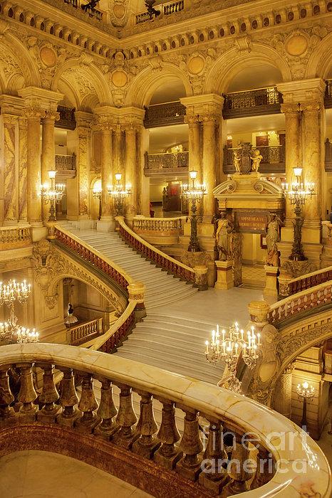 Palais Garnier Interior Print by Brian Jannsen