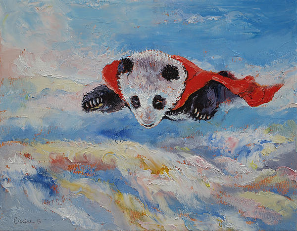Michael Creese - Panda Superhero