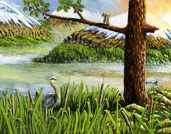 Paradise  Print by Carey MacDonald