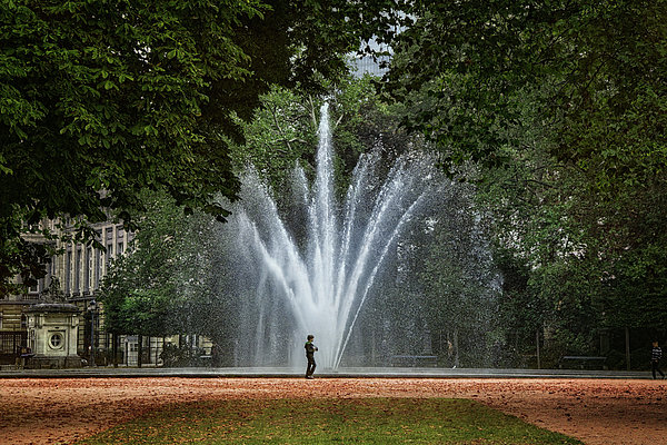 Joan Carroll - Parc de Bruxelles Fountain