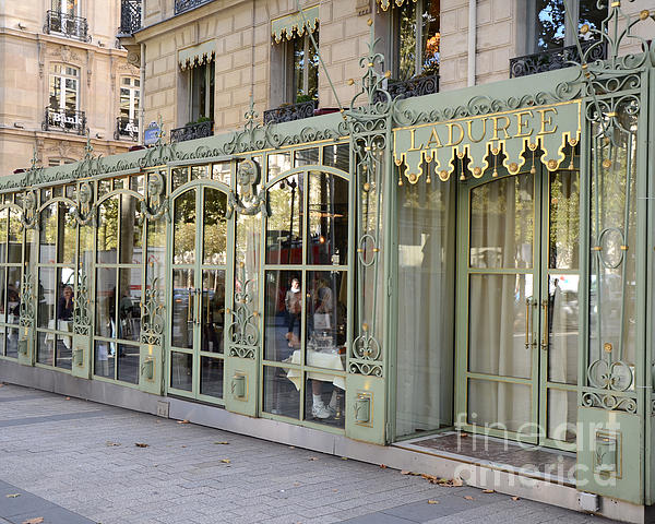 paris dreamy laduree patisserie and tea shop paris laduree doors and architecture fine art by. Black Bedroom Furniture Sets. Home Design Ideas
