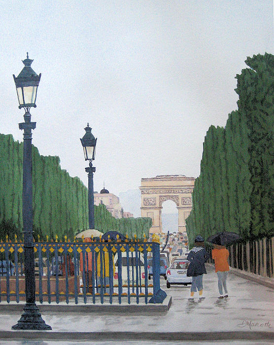 Diane Marcotte - Paris in the Rain