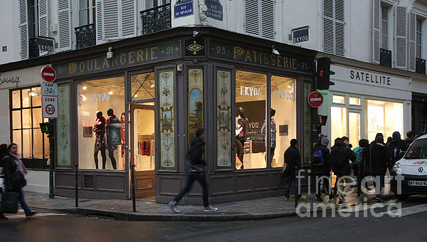 Parisian Evolution Print by Randi Shenkman