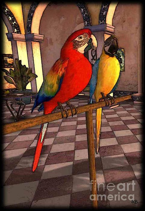 Susanne Baumann - Parrots1