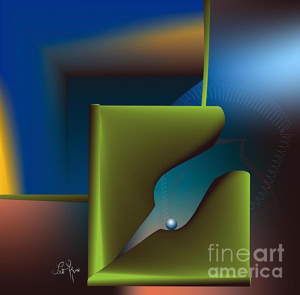 Particle Print by Leo Symon