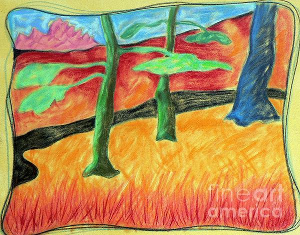 Elizabeth Fontaine-Barr - Pastel Sketch
