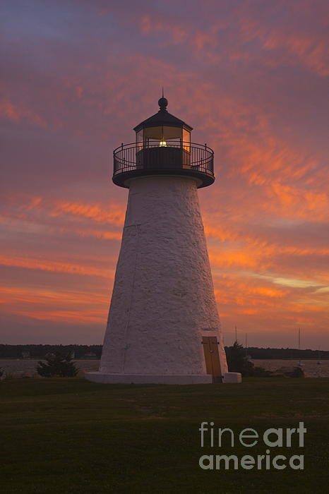 Pastel Sunset At Ned'spoint Print by Amazing Jules
