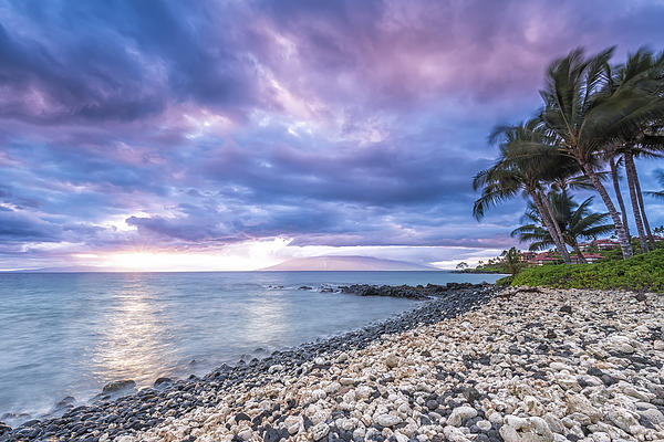 Pastels Over Maui Print by Hawaii  Fine Art Photography