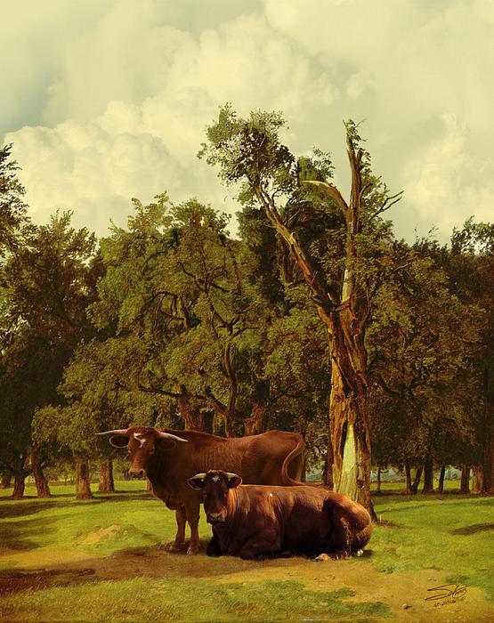 Pastureland Print by Schwartz