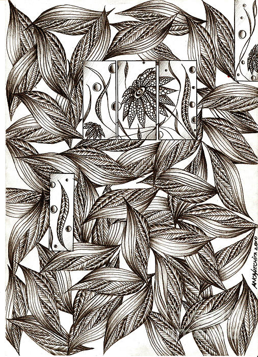 Path Print by Anca S