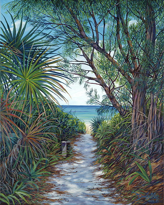 Path To Serenity Print by Danielle  Perry