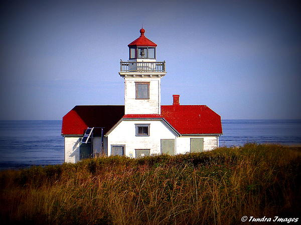 Patos Island Lighthouse Print by Christopher Fridley