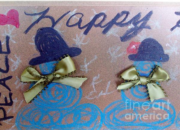 Peace And Happiness Print by Jackie Bodnar