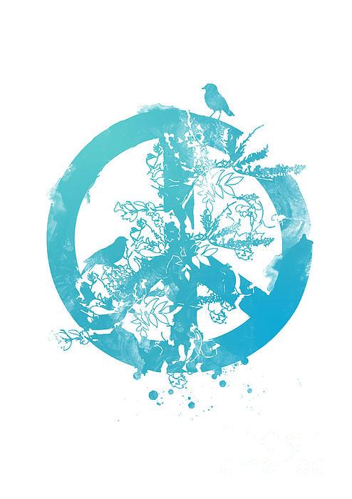 Peace Grows Print by Budi Satria Kwan