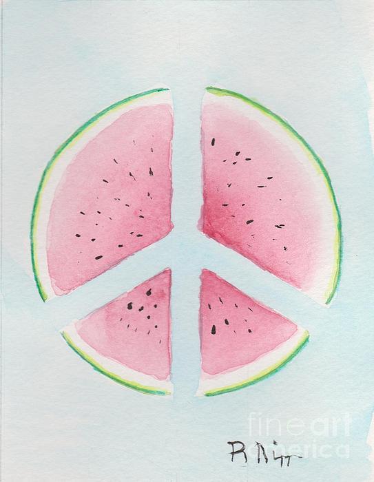 Peace Of Summer 1 Print by Robert Nipper