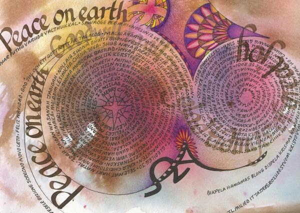 Peace On Earth Print by Amanda Patrick