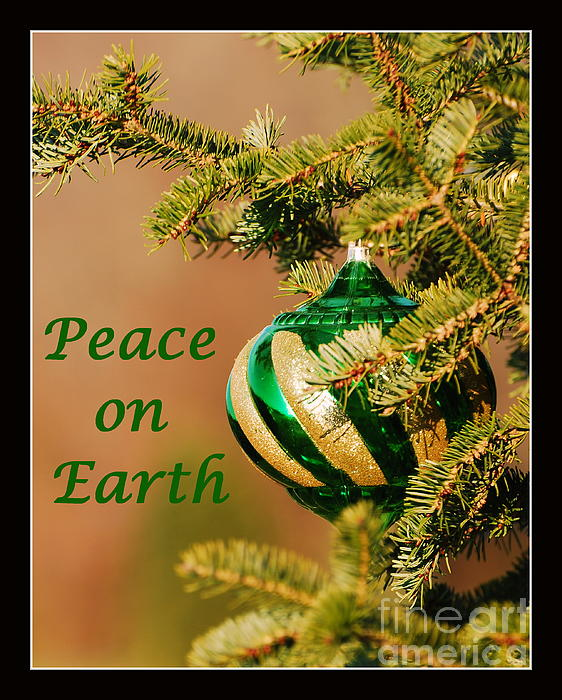 Peace On Earth Print by Francie Davis