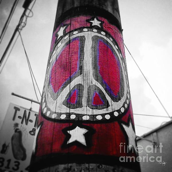 Scott Pellegrin - Peace Pole